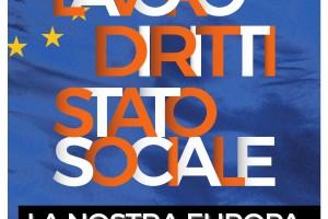 """FESTA NAZIONALE DEL 1° MAGGIO  """"LAVORO - DIRITTI - STATO SOCIALE, LA NOSTRA EUROPA"""""""
