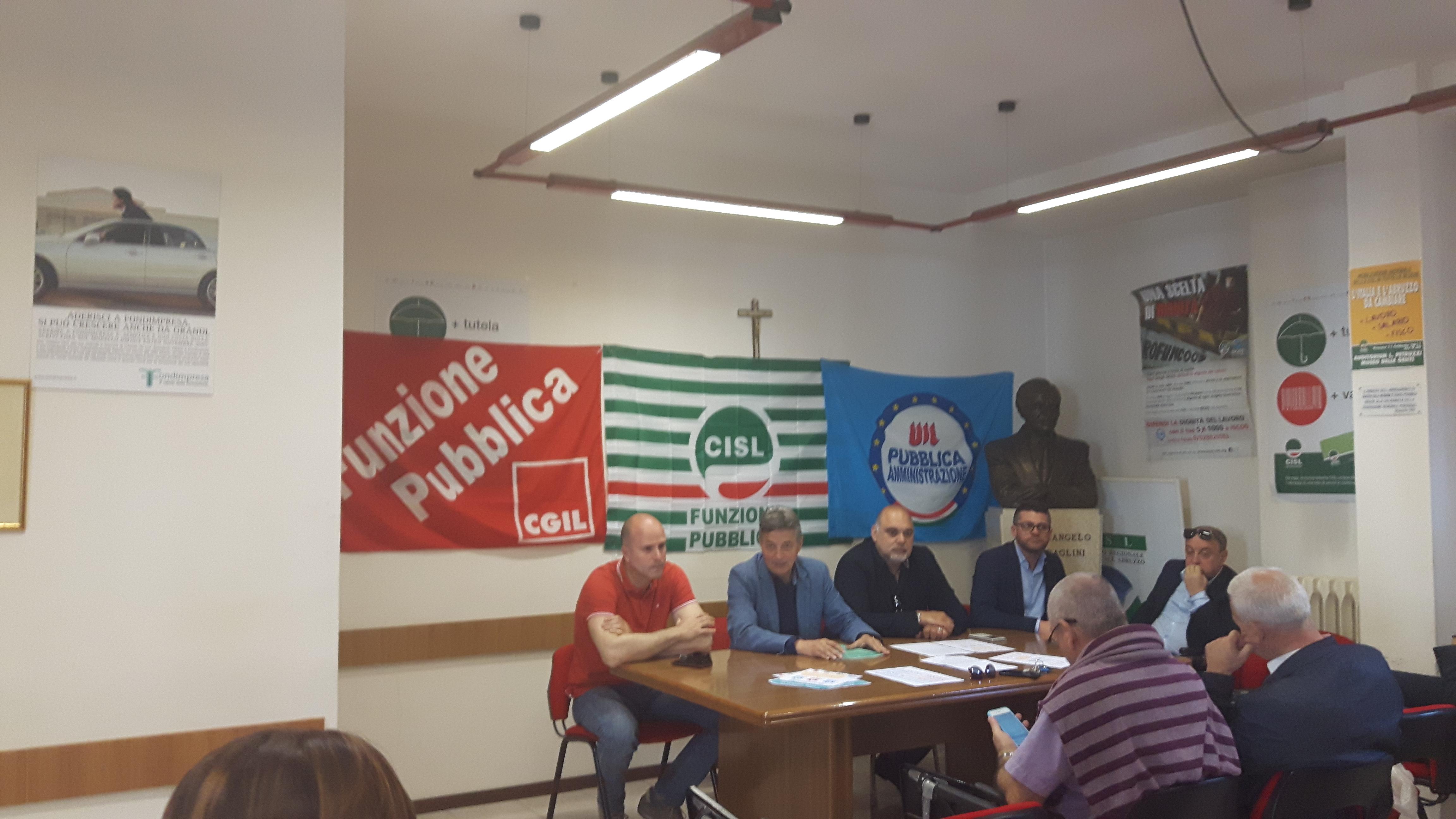 Domani Pubblico impiego in piazza a Pescara