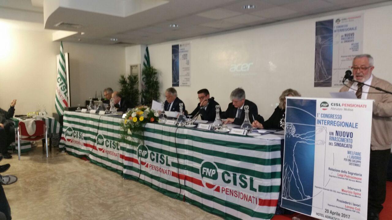 Congresso FNP CISL AbruzzoMolise
