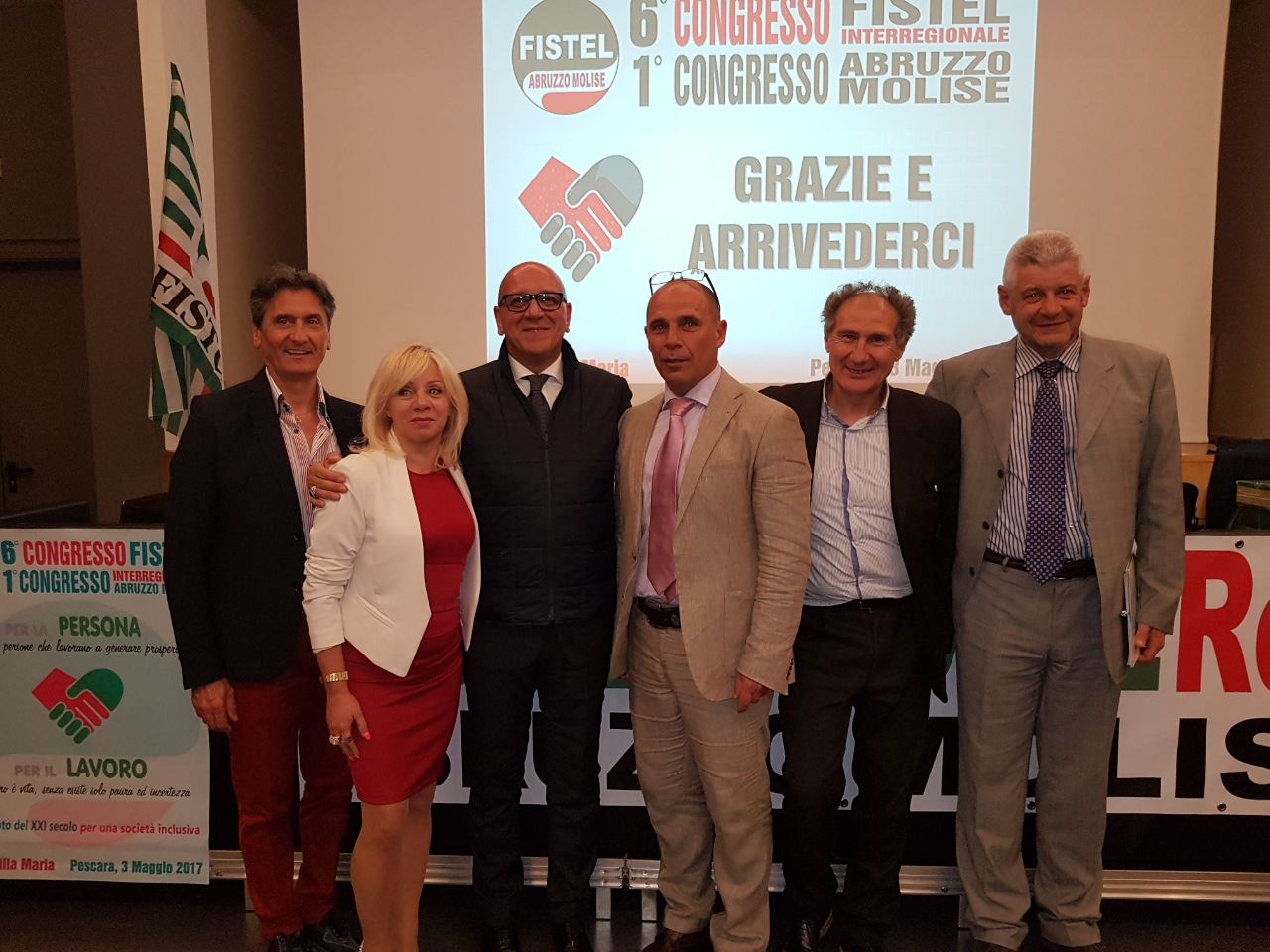 Lucio Petrongolo si conferma Segretario della FISTEL CISL