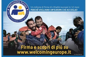""" Welcome Europe"""