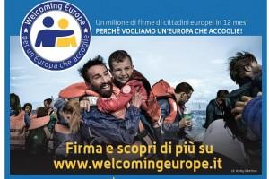 """ Welcome Europe"""