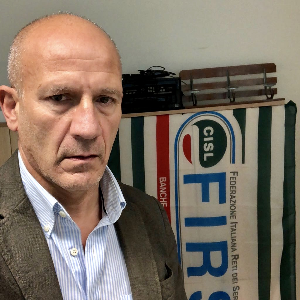 Giulio Olivieri è il nuovo segretario della Federazione First CISL AbruzzoMolise.