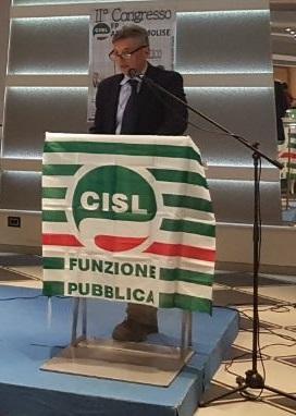 Vincenzo Traniello è stato confermato Segretario Generale della Federazione del Pubblico Impiego della CISL AbruzzoMolise.