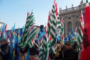 """Manifestazione CGIL, CISL, UIL """"Cambiare le pensioni, dare lavoro ai giovani"""""""