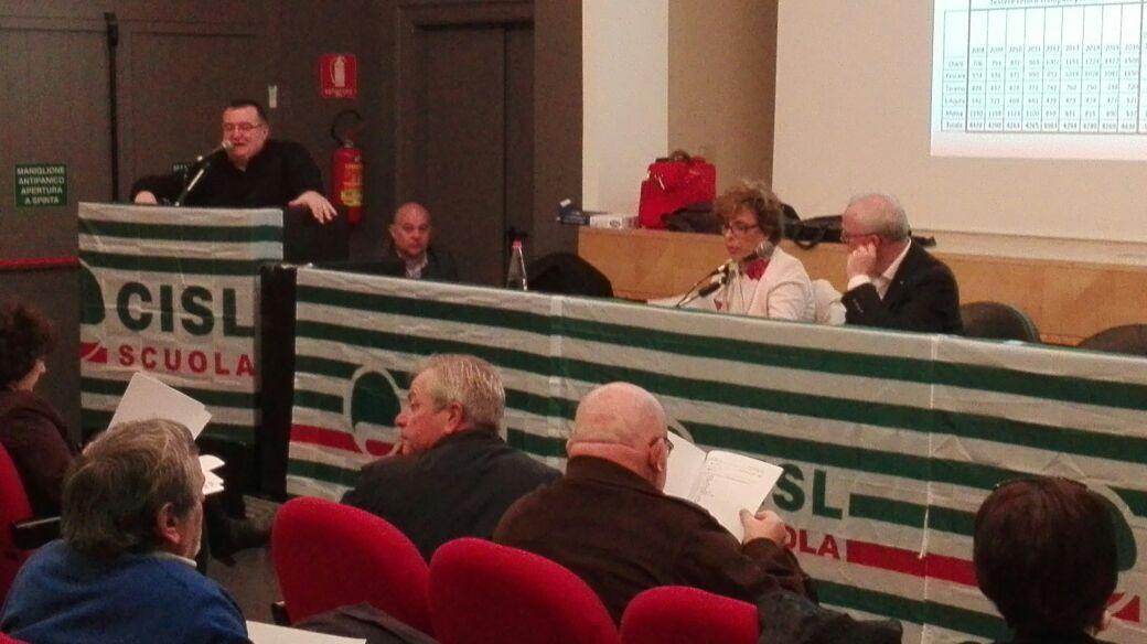 Congresso CISL SCUOLA: Davide Desiati confermato Segretario Generale per i prossimi 4 anni.