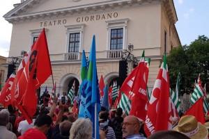 Manifestazione nazionale contro il fenomeno del caporalato e dello sfruttamento