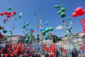 Manifestazione nazionale CGIL-CISL-UIL domani  9 Febbraio in Piazza San Giovanni